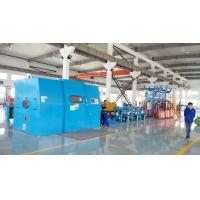Wholesale Automated Cable Twisting Machine / Sky Blue Wire Extruder Machine from china suppliers