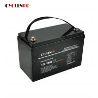 Buy cheap Black Color Bluetooth Lithium Li Ion Battery Pack Self Heated Lifepo4 12V 100Ah from wholesalers