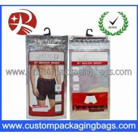 Buy cheap Printed Plastic Hanger Bags For Garment And Towel Packaging from wholesalers