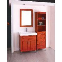 Wholesale OAK Bathroom Cabinet (W-111) from china suppliers
