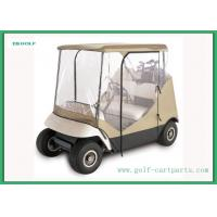 Wholesale Universal Golf Cart Rain Cover For Clubs / Golf Cart Driving Enclosure from china suppliers