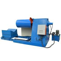 China Small Pipe Bending Machine Holding Capacity Hydraulic Decoiler / Uncoiler on sale