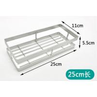 Wholesale 25cm Kitchen Counter Storage Racks , Durable Using Dish Storage Rack from china suppliers