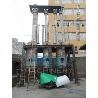 Wholesale Efficient Water Evaporation Triple Effect Falling Film Thermal Evaporator from china suppliers