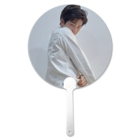 Wholesale Customized 0.6mm PET 16X17CM 3D Lenticular Hand Fans from china suppliers