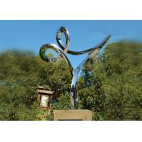 Wholesale Professional Stainless Steel Outdoor Sculpture , Stainless Steel Art Sculptures from china suppliers