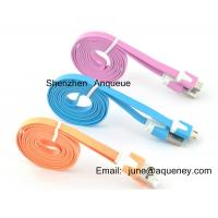 Wholesale Apple Mobile Phone Noodle cable, micro usb cable for Samsung, Iphone from china suppliers