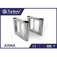 Wholesale Running Stable Electronic Turnstile Gates , Pedestrian Swing Barrier Gate from china suppliers