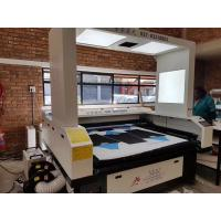 Quality Sublimation Sportwear Laser Cloth Cutting Machine Precision Cutting Without Hair for sale