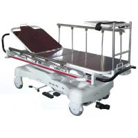 China Hydraulic Rise-And-Fall Patient Transport Stretcher / Trolley For Emergency Room on sale