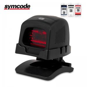 Vertical Desktop 2D Barcode Scanner / Omni Directional Scanner Lowering Cost