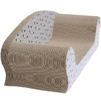 Wholesale Indoor Cardboard Cat Scratcher Recyclable , Cat Scratcher BedCurved Surface from china suppliers
