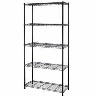 Wholesale Black 5 - Layers Commercial Wire Shelving Unit For Healthcare Product Storage from china suppliers