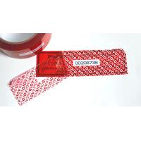 Wholesale Conventional Packaging Tamper Seal Tape With OPENVOID Hidden Message from china suppliers