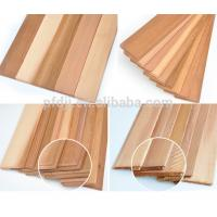 China Customized Size Wood Sawn Timber Western Red Cedar Wall Wood on sale