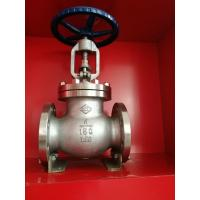 Wholesale SS304 PN16 1 Inch Water Globe Valve Flange Ends Regulating ANSI Standard from china suppliers