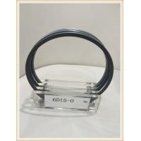 China NPR piston ring of mitsubishi engine 6D15 piston ring manufacturers on sale