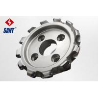 Wholesale High pricision CNC indexable face milling cutter diameter 200mm with brand inserts from china suppliers