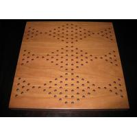 Sound Absorption Mdf Carved Decorative Wall Panel Eco