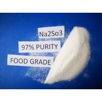 Wholesale Cas No 7757 83 7 Sodium Sulfite Food Grade Na2SO3 97% Purity For Pharmaceutical Industry from china suppliers