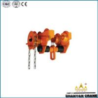 Wholesale 0.5t Push Trolley , Hoist Trolley from china suppliers