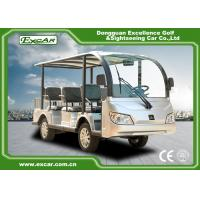 Wholesale Durable 72V 7.5KM Electric Sightseeing Car With Storage Basket Climbing Capacity 25% from china suppliers