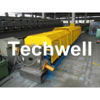 """Wholesale 3"""" * 3"""" Squared Rainwater Downpipe Roll Forming Machine For Water Pipe, Rain Gutter from china suppliers"""