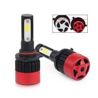 China 8000Lm 9005 9006 Auto Led Headlight Bulbs / High Power Led Replacement Headlights on sale