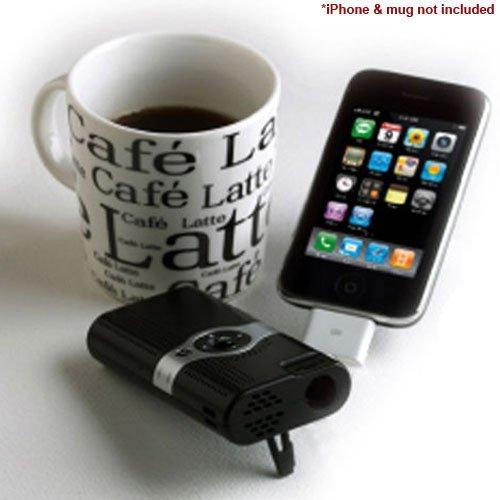 Mini portable pocket multimedia pico video projector for for Apple portable projector