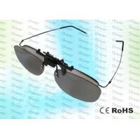 Wholesale RealD,Master Image, Anti-scratch,clip on, washable,Circular polarized 3D film glasses from china suppliers
