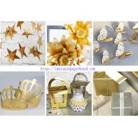 Wholesale Colorful PET Film Paper Cardstock for Wedding Banner/Salon Decoration from china suppliers