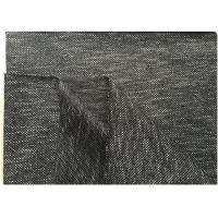 Wholesale Black White Knit Stretch Wool Fabric With Hong-Kong Style 73% Wool18 Polyester 400 Gram from china suppliers