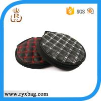 Wholesale Tartan round CD /DVD bag from china suppliers