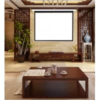 100 4 3 motorized electric projection projector screen hd for Motorized home theater screen
