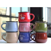 Wholesale 350CC Plain Porcelain Mugs from china suppliers