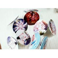Wholesale Beauty Photos Digital Printing Services 3D Digital Printing On Pocket Mirrors from china suppliers