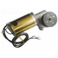 China CW And CCW Round Brushed DC Automatic Sliding Door Motor 24V DC Worm Gear Box Long shaft on sale