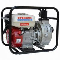 China 3-inch Gasoline Water Pump, Powered by Honda GX160, with 3L Fuel Tank Capacity on sale
