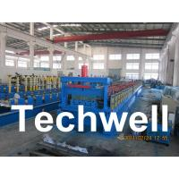 Buy cheap Steel Structure Floor Deck Roll Forming Machine for Roof Deck, Steel Tile TW from wholesalers