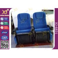 Wholesale Projection Cinema Stand Customized Movie Theatre Seats With Folding Armrest from china suppliers
