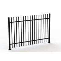 China Galvanised Square Steel Tubular Picket Fence For Schools And Kindergarden on sale