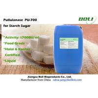 Wholesale High Efficient Pullulanase For Glucose / Maltose Syrup , 700 BU / ml Bacillus Licheniformis Enzyme from china suppliers