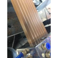 Wholesale Decorative Profiles Extrusion Line For Wood And Recycled Pe Composite Decking Profiles from china suppliers