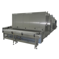 Buy cheap 304SS IQF Fruit Vegetable Liquid Nitrogen Tunnel Freezer from wholesalers