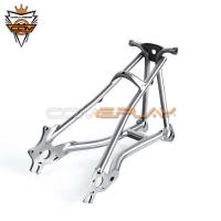 Wholesale Ultra Light Brompton Titanium Parts Raw Color Titanium Alloy Forks 135mm from china suppliers