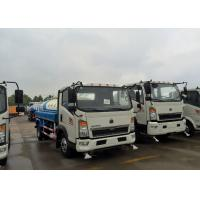 China Sprinkling Truck 5 - 8CBM SINOTRUK HOWO Light Duty Truck Chassis For Road Flushing on sale