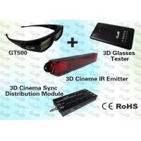 Wholesale 3D Education Pack with 3D IR Emitter and Stereo 3D Glasses from china suppliers