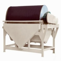 Wholesale 2.2kw-18.5kw Drum Type Magnetic Separator , Permanent Magnetic Separator from china suppliers