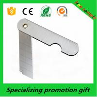 China Industrial SK4 Safety Stainless Steel Utility Knife With Plastic Case on sale