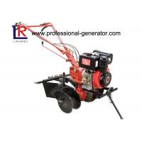 China 3600r / Min 10HP Diesel Power Mini Garden Tiller With Heavy Duty Industial Engine on sale